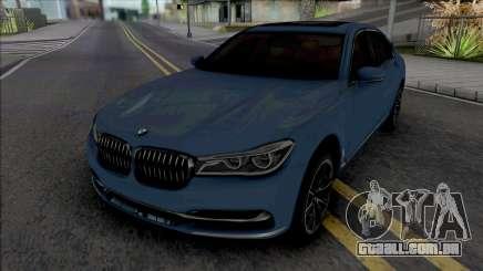 BMW 750Li 2016 para GTA San Andreas
