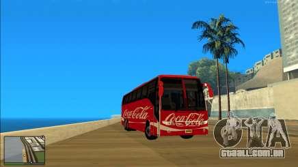 Coca-Cola Volvo Bus Mod para GTA San Andreas