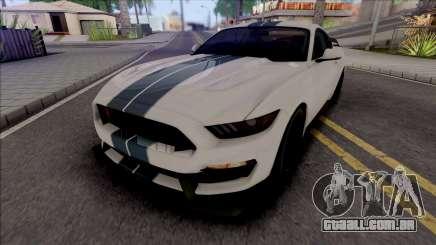 Ford Mustang Shelby GT350R (SA Lights) para GTA San Andreas
