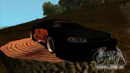 Nissan Skyline GT-R R34 - Tet (No Game No Life) para GTA San Andreas