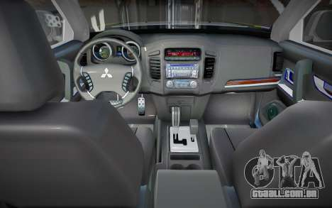 Mitsubishi Pajero BM para GTA San Andreas