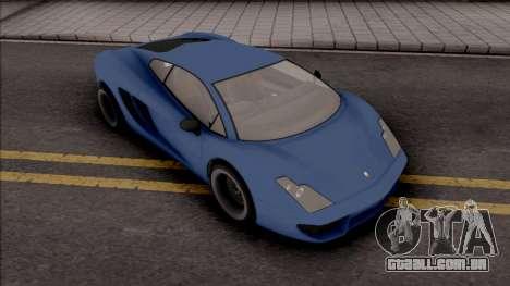 GTA V Pegassi Vacca Blue para GTA San Andreas