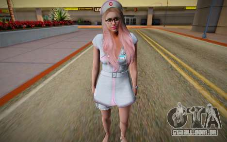 GTA Online Skin Ramdon Female Outher Dress Sexy para GTA San Andreas