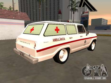 Chevrolet Veraneio 1973 Ambulância do INAMPS para GTA San Andreas