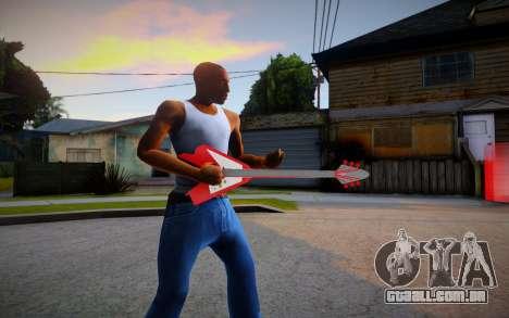 TEKKEN7 Rock Guitar PBR para GTA San Andreas