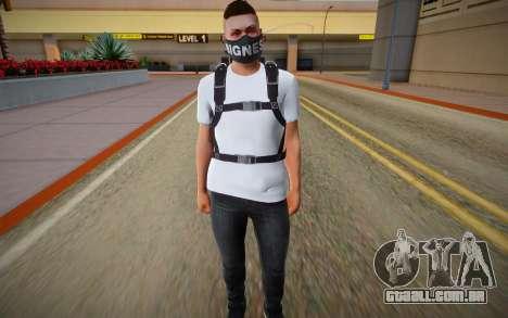 Skin Random from GTA ONLINE With Parachute para GTA San Andreas