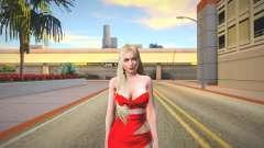 Helena Red Dress para GTA San Andreas