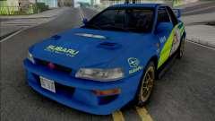Subaru Impreza 22B Rally para GTA San Andreas