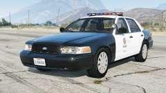 Ford Crown Victoria P71 Police Interceptor 2001〡LAPD [ELS] v4.6 para GTA 5