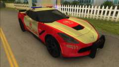 Corvette C7 Police para GTA Vice City