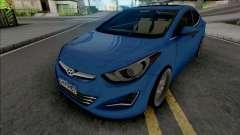 Hyundai Elantra Edit para GTA San Andreas