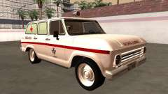 Chevrolet Veraneio 1973 Ambulância do INAMPS