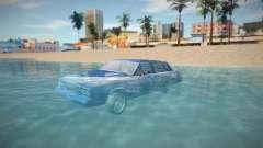 Radio off in water para GTA San Andreas