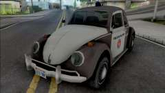 Volkswagen Fusca 1970 Military Police para GTA San Andreas