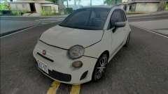 Fiat 500 2015 Improved para GTA San Andreas