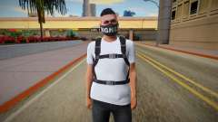 Skin Random from GTA ONLINE With Parachute