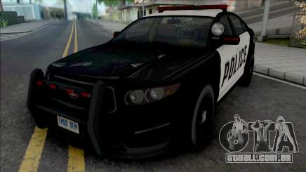 GTA V Vapid Interceptor [VehFuncs] para GTA San Andreas