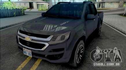 Chevrolet S10 LTZ 2017 SA Style para GTA San Andreas