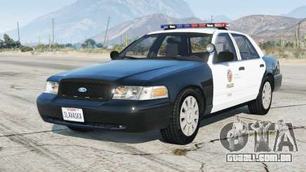 Ford Crown Victoria P71 Police Interceptor 2001〡LAPD [ELS] v4.6 para GTA 5