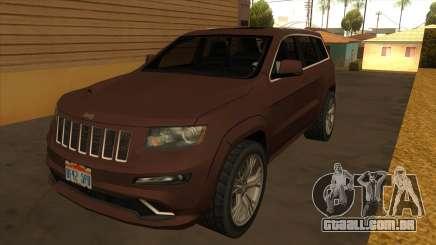 Jeep Grand Cherokee SRT 2012 para GTA San Andreas