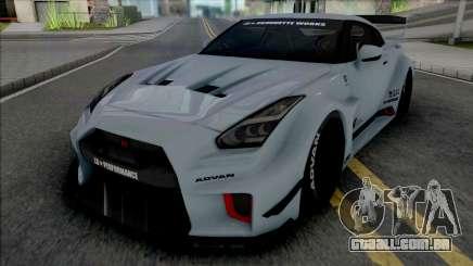 Nissan GT-R R35 LB Silhouette Works para GTA San Andreas