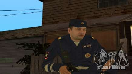 Sargento de Pele DPS para GTA San Andreas