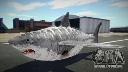 Shark Plane para GTA San Andreas