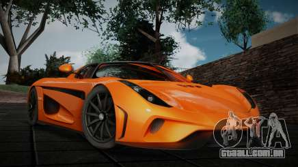 Koenigsegg Regera Roadster para GTA San Andreas