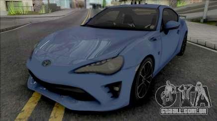 Toyota GT86 2017 para GTA San Andreas