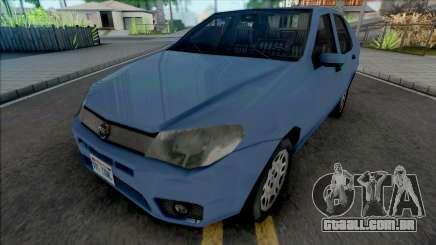 Fiat Siena HLX 2007 SA Style para GTA San Andreas