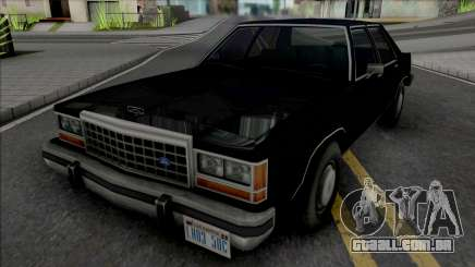 Ford Crown Victoria 1986 (MIB) para GTA San Andreas