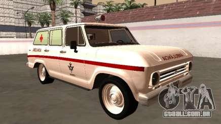 Chevrolet Veraneio 1973 Ambulância do INAMPS para GTA San Andreas