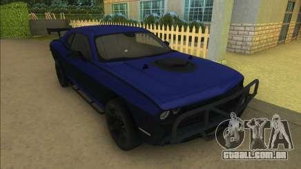 Lettys Dodge Challenger SRT para GTA Vice City