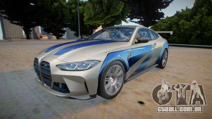 2021 BMW M4 GTR para GTA San Andreas