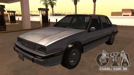 Chevrolet Cavalier Sedan 1988 para GTA San Andreas