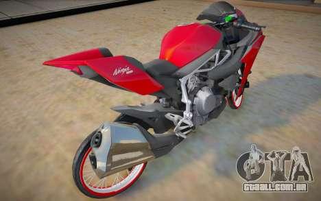 Kawasaki H2R Thailook para GTA San Andreas