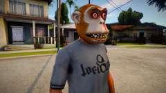 Monkey Mask (GTA Online Diamond Heist) para GTA San Andreas