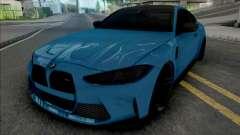 BMW M4 2021 SlowDesign Small Kidney Grille para GTA San Andreas