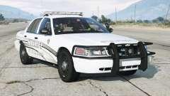 Ford Crown Victoria P71 Police Interceptor 2011〡Sheriff K-9 Unit [ELS]〡blue & blue para GTA 5