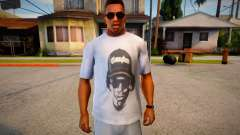 Eazy-E T-Shirt para GTA San Andreas