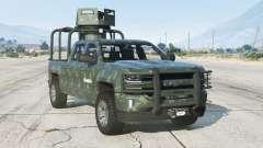 Chevrolet Cheyenne Armored Crew Cab 1.1〡 2017 para GTA 5