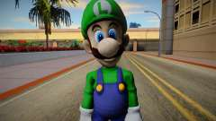 Luigi from Super Smash Bros. for Wii U para GTA San Andreas
