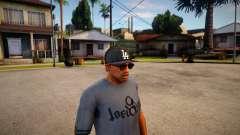 Gorra New Era LA Para CJ para GTA San Andreas