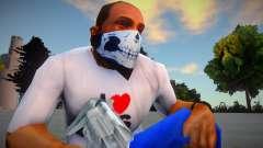 Máscara HD-crânio para GTA San Andreas