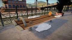 Winter Bench para GTA San Andreas