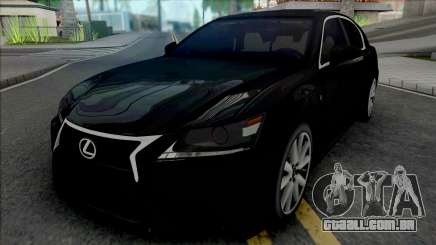Lexus GS350 Black para GTA San Andreas