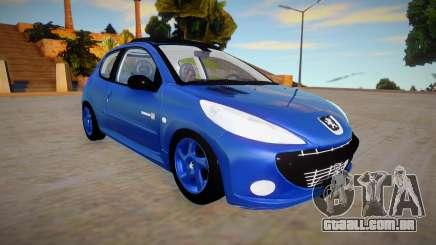 Peugeot 207 Quicksilver para GTA San Andreas