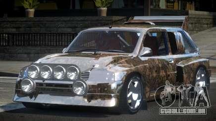 1987 Austin Metro GST-R PJ4 para GTA 4