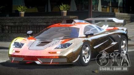 McLaren F1 GST-R L10 para GTA 4