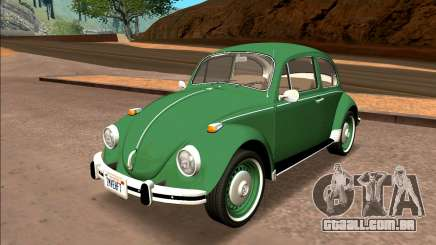 Volkswagen Beetle (Fuscao) 1500 1974 - Brazil para GTA San Andreas
